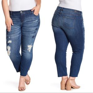 STS Blue Taylor Straight Leg Embroidered Plus Jean